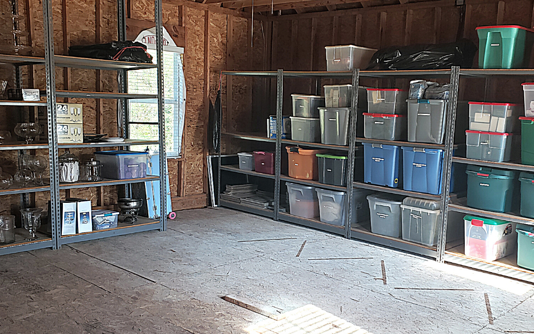 Before & After: Attic Organization