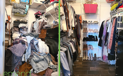 Before & After: Clothes Closet