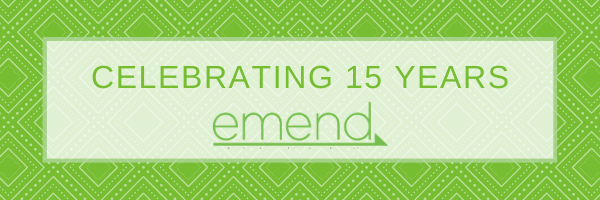 Celebrating 15 Years of Emend, Part II
